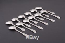 Christofle French silverplate America pattern Flatware Set Table set 84 pcs