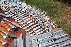 Christofle Japonaise 120 Pieces Set in 12 Settings