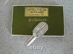 Christofle Luc Lanel Ondulation set of 6 knives rests in box
