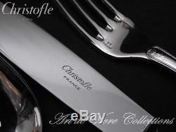 Christofle MALMAISON 12 place settings, 48 pieces Table set, Brilliant Luster