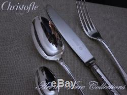 Christofle MARLY 12 place settings, 49 pieces Table set, Brilliant Luster