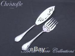 Christofle MARLY Fish Serving Set Brilliant Luster, Service à Poisson VERY RARE