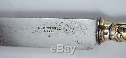 Christofle MARLY Silverplated Flatware Set x 143 p