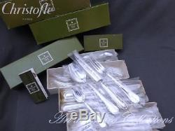Christofle SPATOURS 12 place settings, 48 pieces Table set New in sealed blister