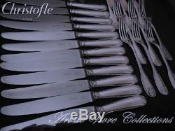 Christofle VENDOME 12 place settings, 48 pieces Table set Brilliant Luster