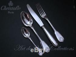 Christofle VENDOME 12 place settings, 49 pieces Table set, Brilliant Luster