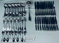 Christofle VENDOME SHELL Flatware dinner Set 61 Pcs 12 Pers Perfect