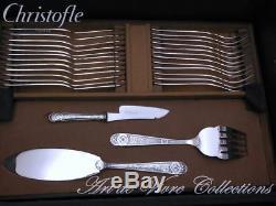 Christofle VILLEROY 12 place settings, 118 pieces Flatware Table set