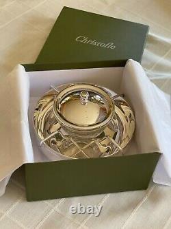 Christofle Vertigo Silver Plated Caviar Serving Set