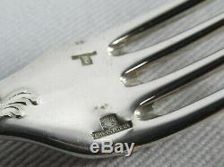 Clean CHRISTOFLE MARLY 60pc Silver Flatware Set FRANCE 4pc Place Settings