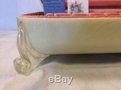Community Evening STAR Silver plate Flatware 63 pc set Vintage 1950 Lucite Chest