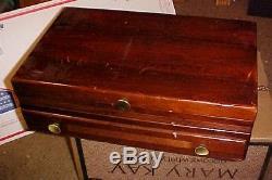 DISTINCTION 1951 ONEIDA PRESTIGE PLATE SILVERPLATE FLATWARE 152 PCS SET WithBOX