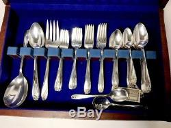 Daffodil 1847 Rogers Bros. Silver Flatware Silverware Vintage 10 Place Setting