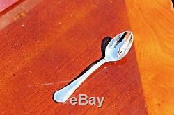 ERCUIS Contour Silver Plated Demitasse Moka Espresso Spoons set of 12