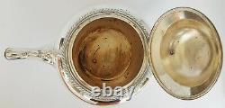 Edwardian SilverPlate Tea Set Oneida Silversmiths Teapot, Milk Jug & Sugar Bowl