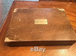 Estia Silverplate Flatware Set 96 Pieces Box Included