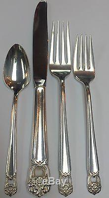 Eternally Yours 1847 Rogers Bros. Flatware Set 85 Pieces 12 Place Settings