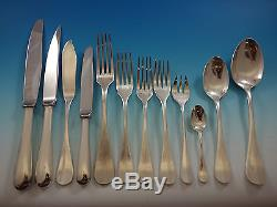 Fidelio by Christofle France Silverplate Flatware Set Service 112 Pieces Huge