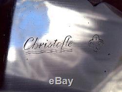 French Christofle LAOS Silver Plate Flatware Set Designed Christian Fjerdingstad