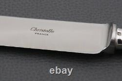 French silverplate Christofle Marly pattern Carving set Fork & Knife with box