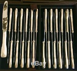 Frionnet-François-France VENDOME Pattern. 193 Piece Silver Plated Flatware Set