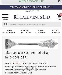 Godinger Baroque Silverplate Boxed Silverware Set