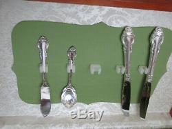 Holmes & Edwards Deep Silver Flatware 60 Pc Set-silverplate Silver Fashion Pat