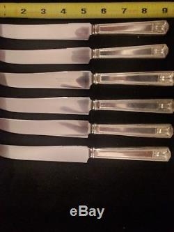 Holmes and Edwards SuperPlate Flatware Set Silver plate Century 100 + piece set