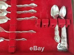 International Silver Co Deepsilver 62 piece Wakefield Flatware set Vintage 1965