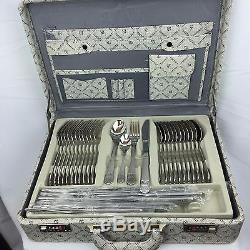 Kaiserkoch-Germany Versace New 72 Pcs Dinning Set 12 Case Flatware Silverware