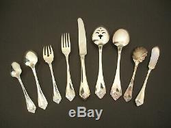 King James Oneida Community Silverplate Flatware Service for 12 in Box 64 Pieces