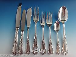 LOUIS XV BY ERCUIS FRENCH SILVERPLATE FLATWARE SET SERVICE DINNER 88 PIECES
