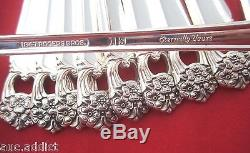 Large Set 102 pieces 1847 Rogers Bros ETERNALLY YOURS Silverplate Flatware