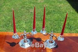 Majestic Christofle 2-Lights Candelabras Set of TWO