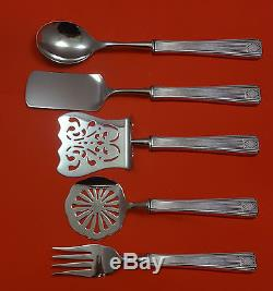 NOBLESSE BY ONEIDA PLATE SILVERPLATE BRUNCH SERVING SET 5-PC HHWS CUSTOM MADE