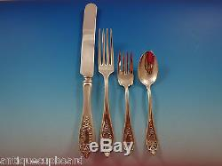 Old Colony By 1847 Rogers Plate Silverplate Flatware Set Service For 12 52 Pcs