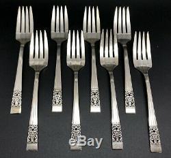 Oneida 52 Pieces Silverplate Set CORONATION Service for 8 + Storage Box (RF1060)