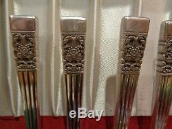 Oneida Community Coronation Service 64 pcs Set Silverplate