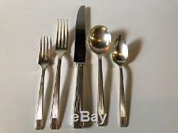 Oneida Community NOBLESSE Silver Plate Flatware ART DECO 1930 CHOICE