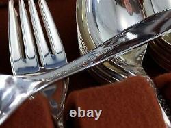 Oneida Community WINSOME 102 Pc Set 13 Place Settings Silverplate Flatware 1959