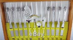 Oneida PLANTATION 1881 Rogers 44 Piece Silverplate Flatware Set