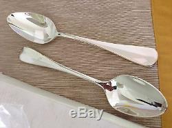 Oneida Silver Plate Baguette 12 Piece Table Spoon/Serving Spoon Set