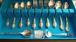 Oneida Wm A Rogers 27 Piece Flatware Set 1957 Park Lane Chatelaine Dowry W Box