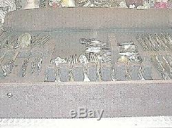 REDUCED Godinger Baroque Silverplate Flatware 66 piece set & anti-tarnish box
