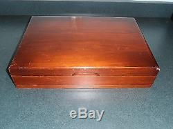Reed & Barton Tiger Lily / Festivity Silverplate Flatware Set Service & Box