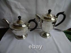 Reproduction Art Deco Silver plated EPNS A1 Tea set, Sheffield