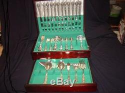 Rogers Heritage Silverplate Flatware Set for 12 (79 Pcs)