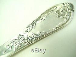 Russian Louis XV Melchior Dinner Forks Knives Set Flatware 11 Pc Silver Plate