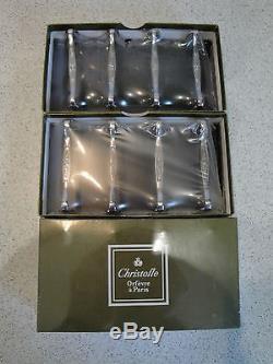 SET of 12 Knives rest Christofle Marie-Antoinette Silver-plated FRANCE