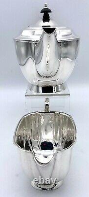 Silver Plate Four Piece Tea Set by Elkington & Co 1965